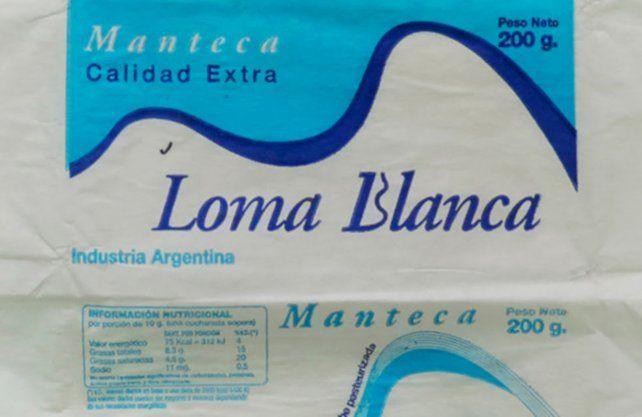 La Assal prohibió las mantecas Loma Blanca y Yolcle