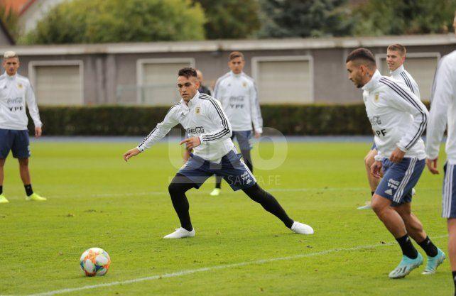 Argentina tendrá otra prueba sin Messi ante Alemania