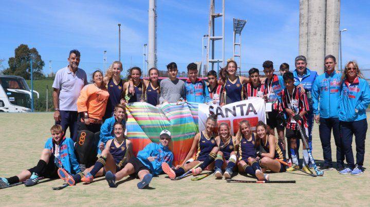 Santa Fe consiguió 16 medallas en los Juegos Evita