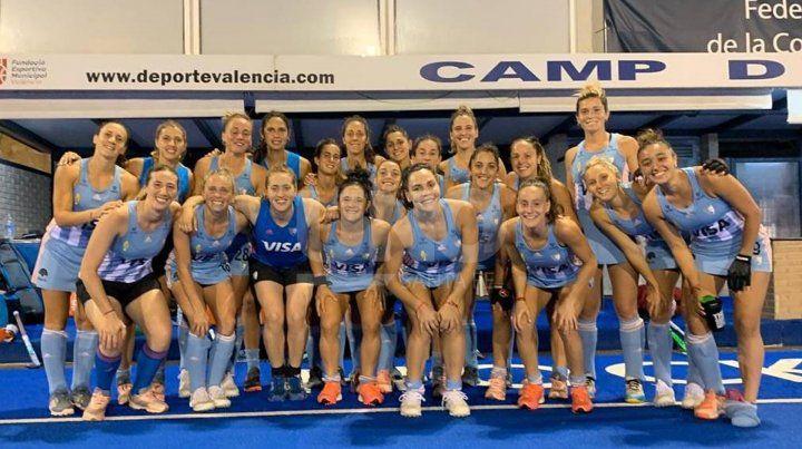 Las Leonas arrancaron con el pie derecho en Valencia