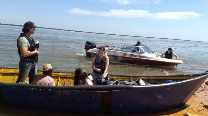 La droga secuestrada en Corrientes.
