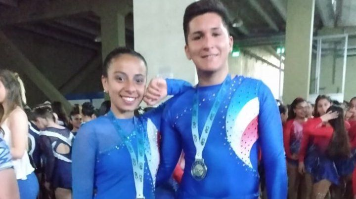 Lescano y Gómez fueron campeones argentinos en La Rioja