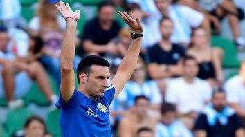 la nueva sensaciones de scaloni tras la goleada de argentina a ecuador