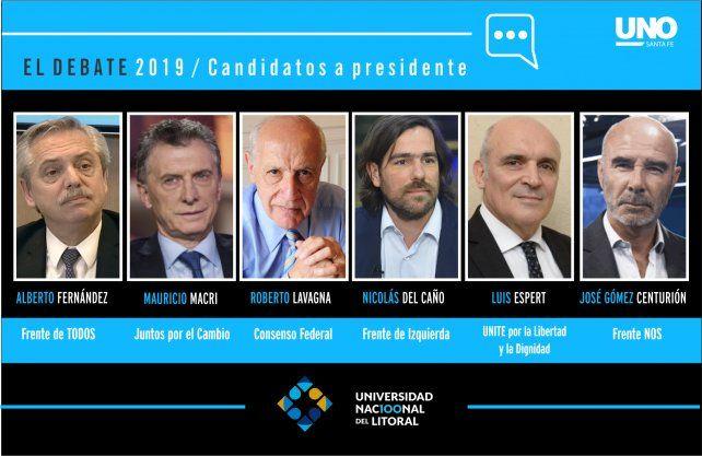 Todos los candidatos estarán presentes
