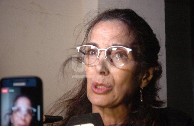 María Eugenia Bielsa, luego de presenciar el debate presidencial habló con UNO Santa Fe. Foto: José Busiemi
