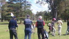 variada actividad en los clubes de golf