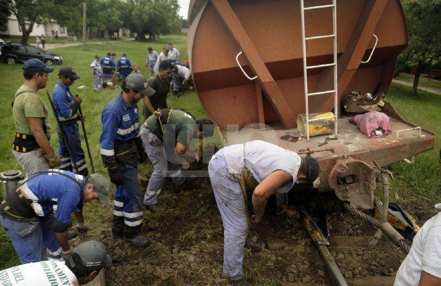 En menos de dos años hubo 15 descarrilamientos de trenes en la ciudad.