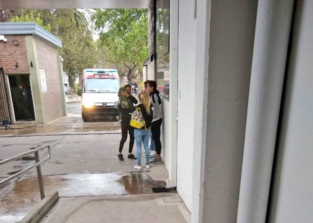 Un gran susto para la mujer e hijo de Fernando Zuqui