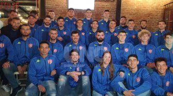 union presento el plantel que jugara la liga argentina de basquet
