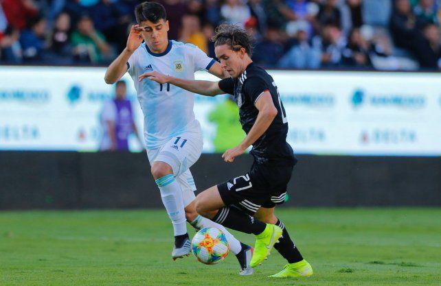 Argentina Sub 23 se despidió con otro empate de México