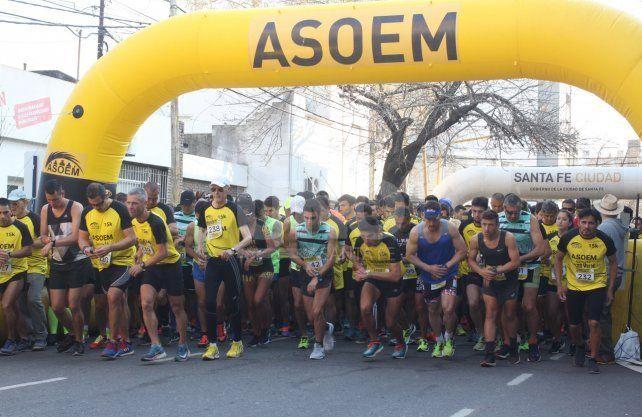 Asoem organiza la 5ª edición del Maratón