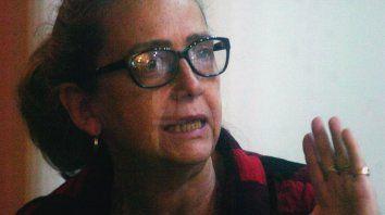 Inés, la mamá de Julio Cabal.