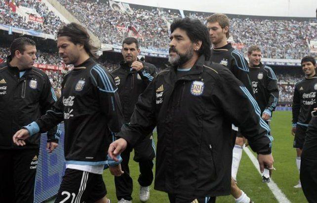 Garcé integró el plantel de Argentina que disputó el Mundial de Sudáfrica.