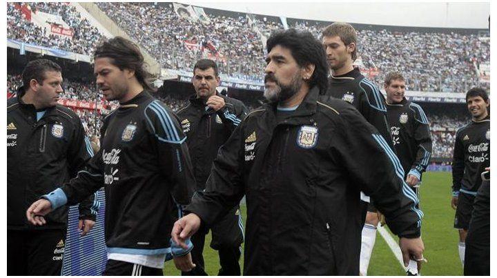 La increíble anécdota de Garcé, el ex-Colón que fue llevado por Maradona al Mundial