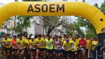 la 5ª edicion de la maraton de asoem no se pudo concretar