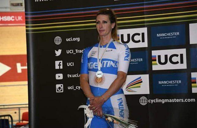 Perino cerró su actuación en el Mundial máster con una medalla de plata
