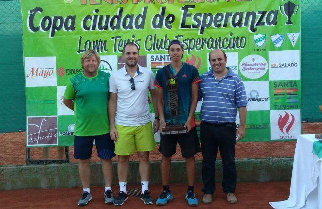 Esperanza será escenario de una importante competencia de tenis