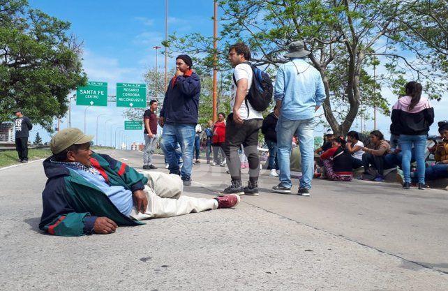 Luego de tres horas y media de corte, pescadores levantaron la protesta
