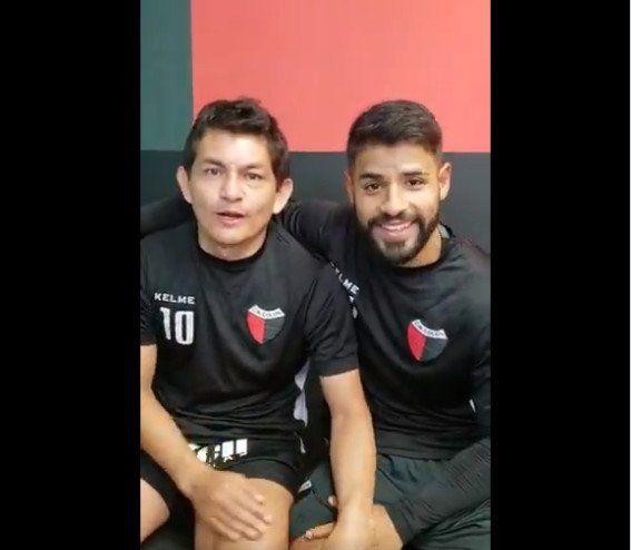 El divertido video que grabaron Pulga Rodríguez y Esparza luego de la lesión