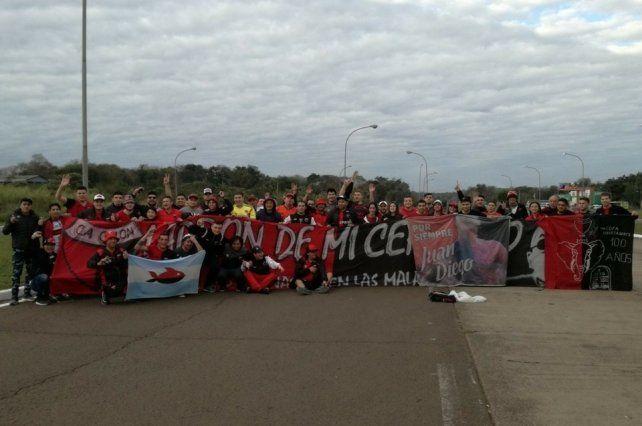 Madero: Más de 50 hinchas de Colón no podrán ingresar a Paraguay