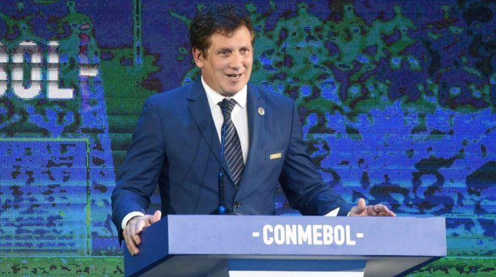 Domínguez confirmó cuánto ganará el campeón de la Sudamericana