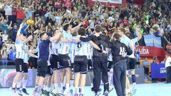 argentina se quedo con el cuatro naciones de handball