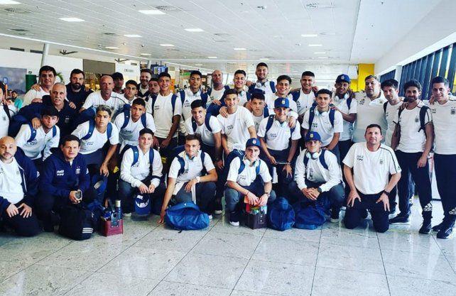 La Selección Argentina Sub 17 se instaló en Brasil para el Mundial