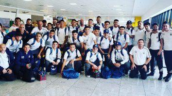 la seleccion argentina sub 17 se instalo en brasil para el mundial