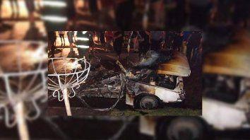 Bº Barranquitas: incendio, explosión y heridos en la madrugada