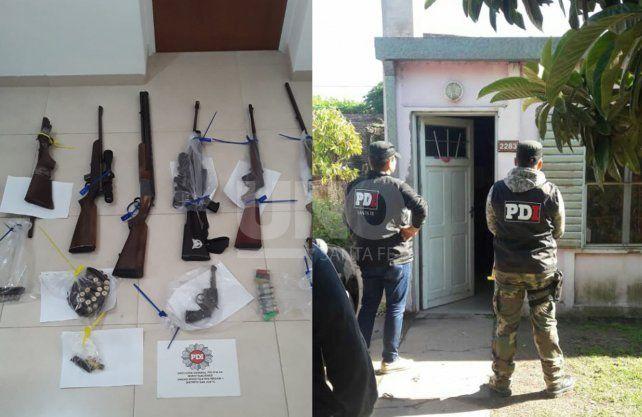 Apresaron a cinco delincuentes por el robo de agroquímicos