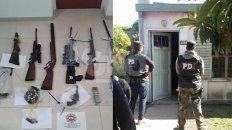 apresaron a cinco delincuentes por el robo de agroquimicos