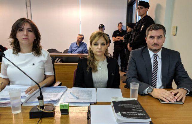 Las fiscales Gabriela Lema y Lorena Korakis