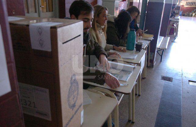 En Santa Fe se elige Presidente y 10 diputados nacionales