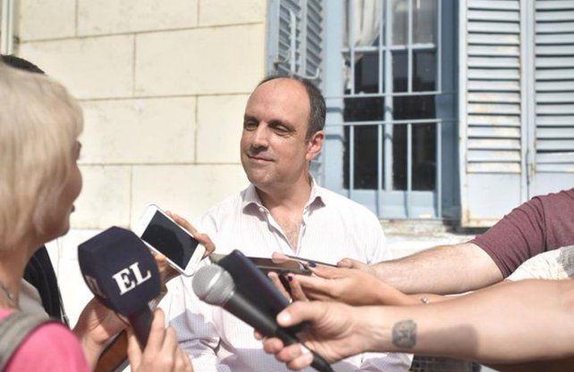 El intendente José Corral.