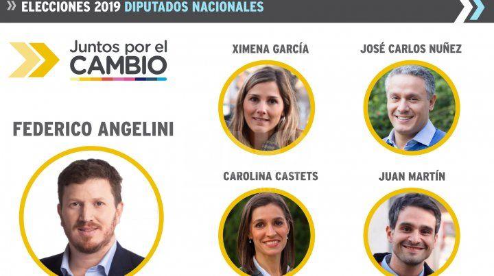 Diputados electos de Juntos por el Cambio.