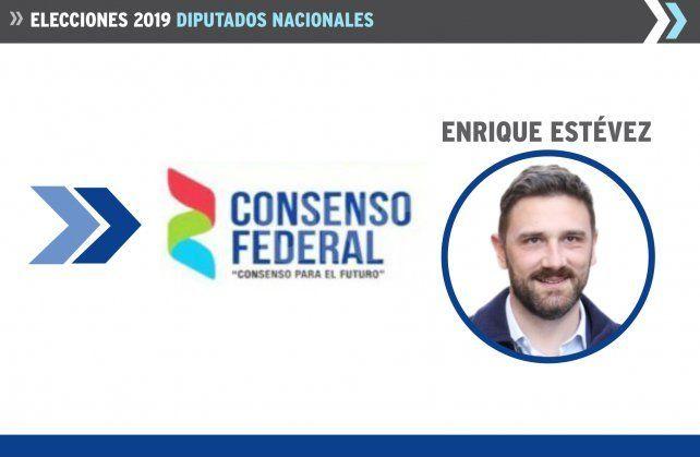 El diputado electo por Consenso Federal.