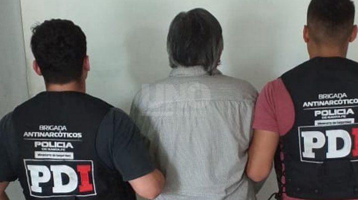 El hombre de 65 años contaba con un pedido activa de captura por parte de la justicia federal de Santa Fe.