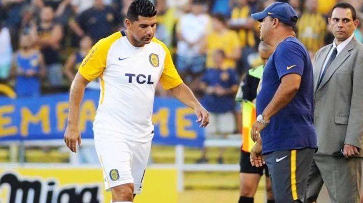 Ortigoza se lesionó y le dijo adiós a Rosario Central