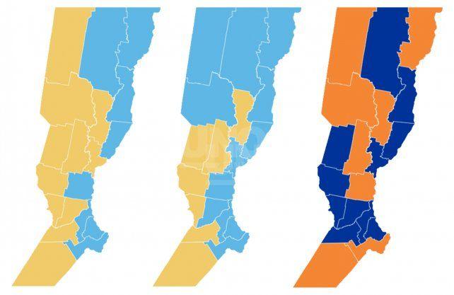 Cómo se votó en la provincia en las Generales, en las Paso y para gobernador
