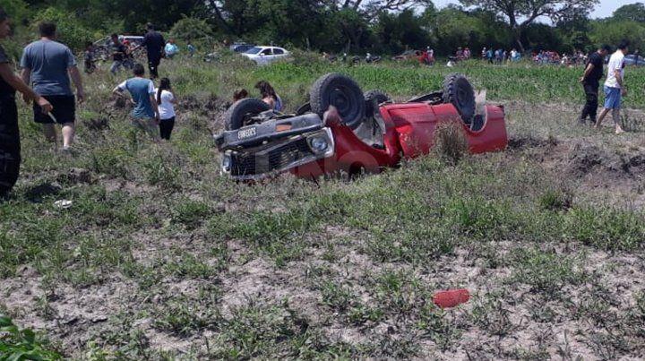 Imágen del accidente.