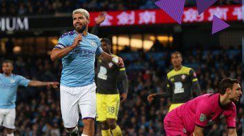 con goles argentinos, el city progresa en la copa de la liga