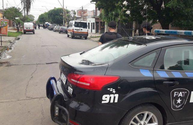 El lugar en dónde el adolescente recibió el disparo tras un arrebato en barrio Guadalupe Oeste.