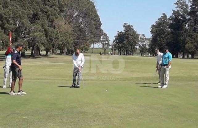 Mucha actividad golfística en nuestra zona