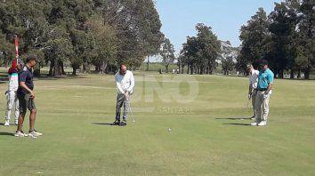 mucha actividad golfistica en nuestra zona