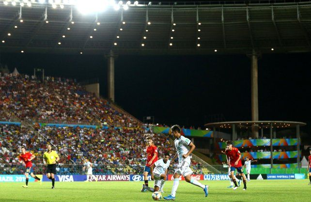 Argentina va por su primer triunfo en el Mundial Sub 17
