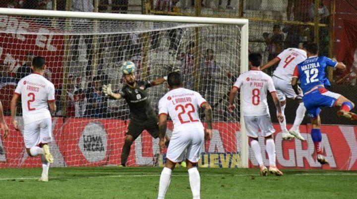 El último antecedente de Unión levantando una desventaja de dos goles