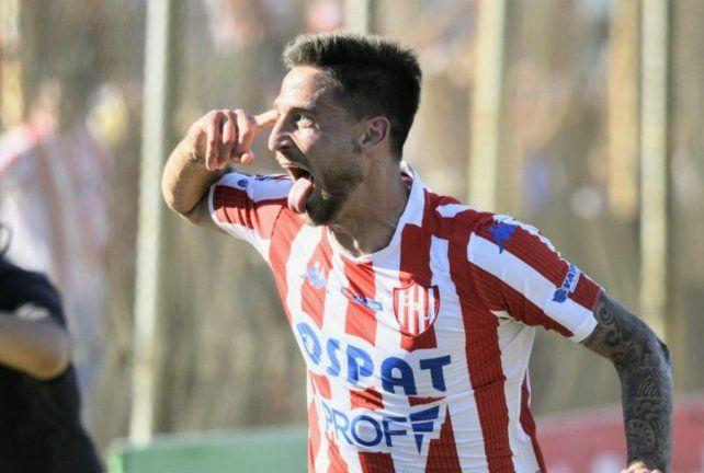 Nicolás Mazzola llegó desde Chile y completó un año y medio en Unión.