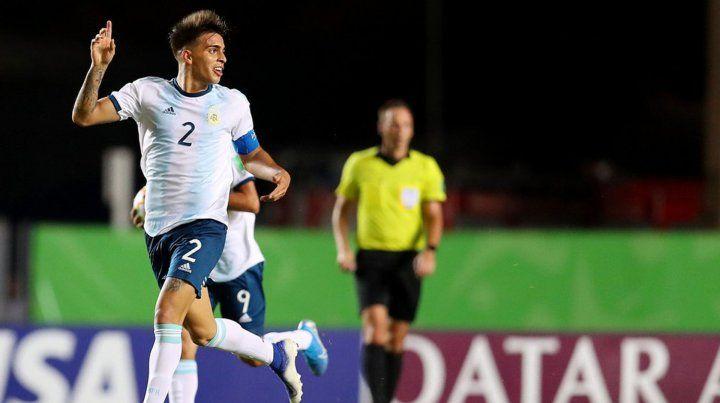 La Selección Sub 17 sumó su primer triunfo en el Mundial de Brasil