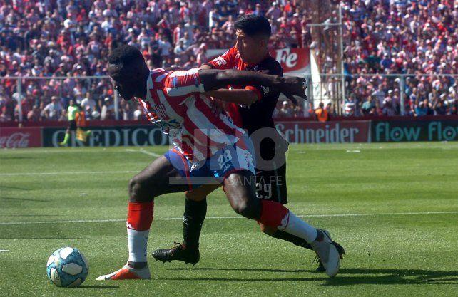 Yeimar Gómez Andrade de Unión, uno de los jugadores con más intercepciones de la Superliga