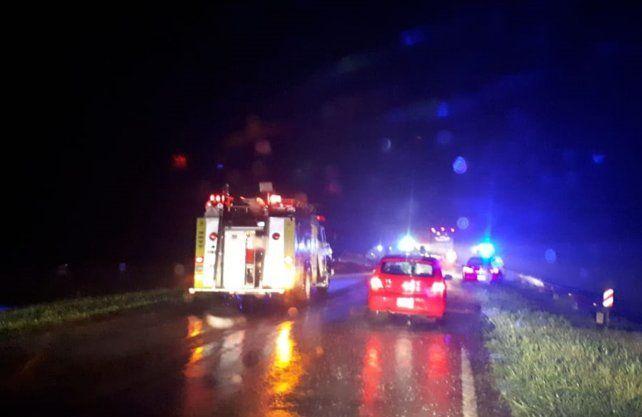 Accidente fatal en Ruta 34.